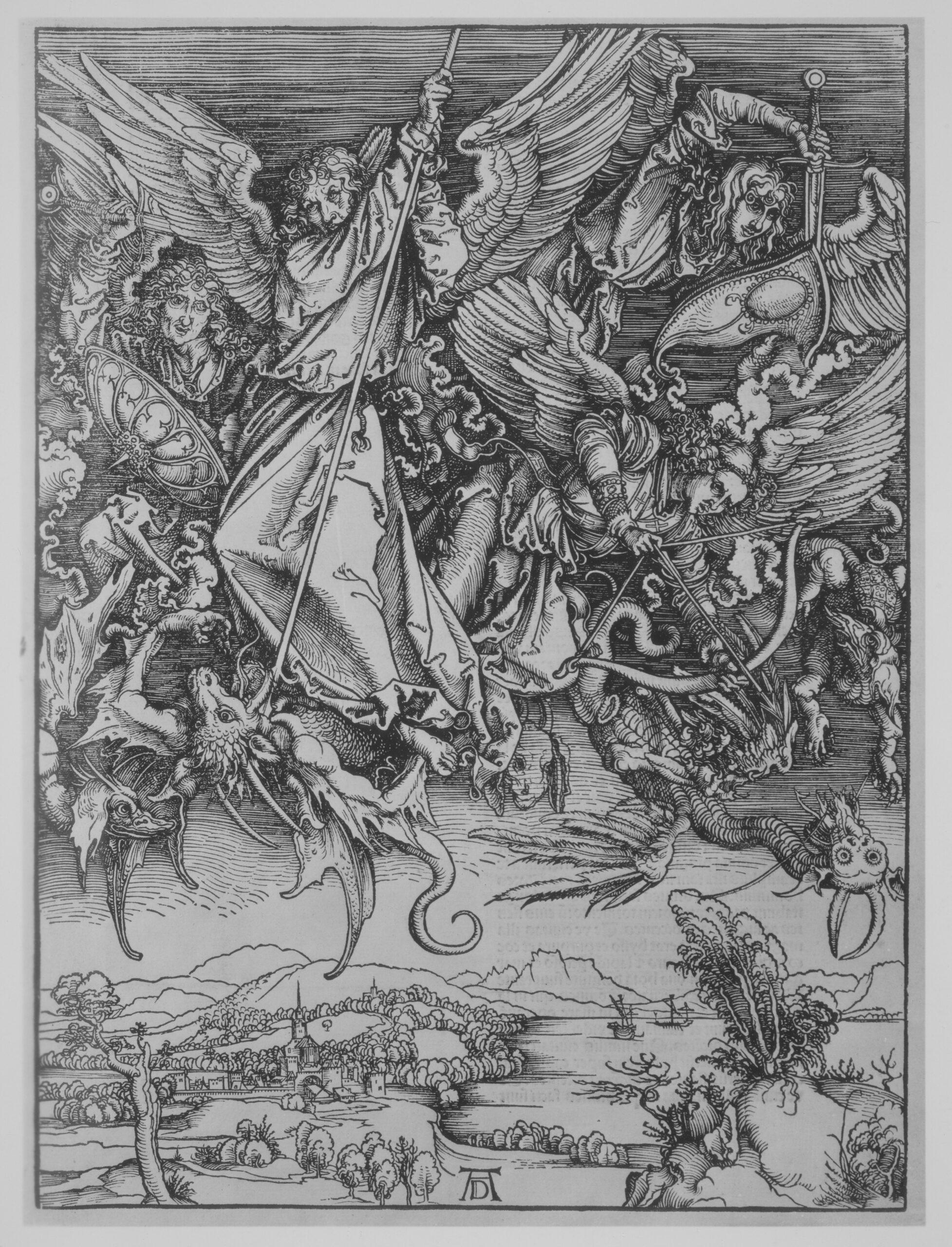 Albrecht DürerApocalypsis cu Figuris, 1511